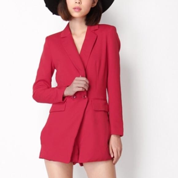 7421be1ea7d3 ESSUE Dresses   Skirts - Beautiful blazer tux romper S